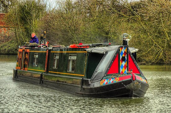 Narrowboat Albert by SimplyScene