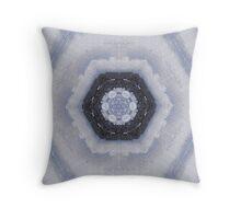 Sea Through Mirrors (Cross Stitch) Throw Pillow