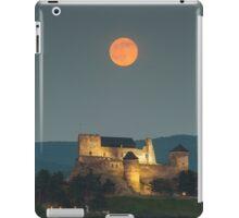 The castle of Boldogko at full moon iPad Case/Skin