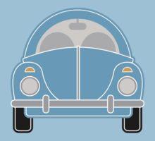 Blue Car Baby Tee