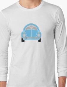 Blue Car Long Sleeve T-Shirt
