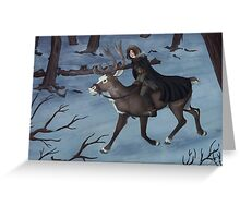 Nordic Forest Greeting Card