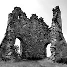 Tutbury Castle Ruins II by Mike Topley