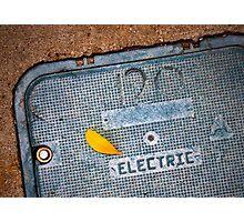120 Electric Photographic Print
