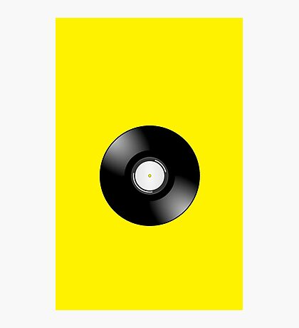 Vinyl Record by Chillee Wilson Photographic Print