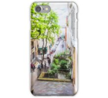 Steps at Montmartre iPhone Case/Skin