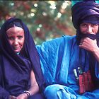 Mohamadou and Aissa, Niamey, Republic of Niger by Valarie Napawanetz