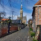 Town Hall of Veere; the other side....... by Adri  Padmos