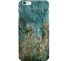 Figures in the landscape by rafi talby iPhone Case/Skin