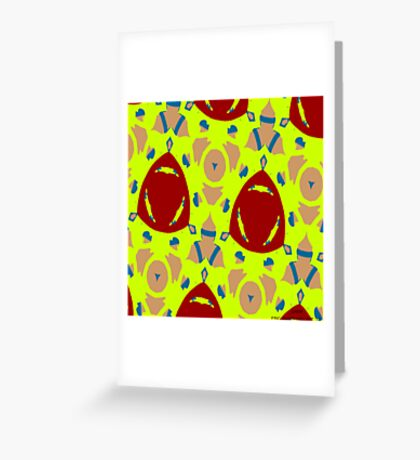 ( SAFIR )  ERIC  WHITEMAN ART   Greeting Card