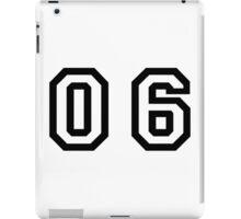 Number Six iPad Case/Skin