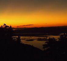 Sunset from Willard Basin by apatcyk
