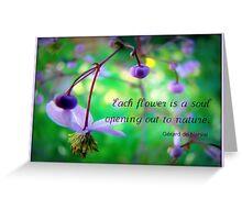 Soulful Rue Greeting Card