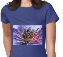 Reaching Out   Womens Fitted T-Shirt