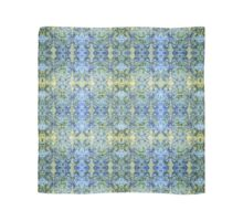 Decorative Textiles -Tadpole series: Cobalt and olive Scarf