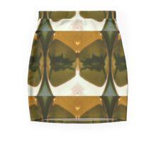 An Abstract Reflection Mini Skirt