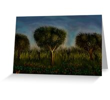 Trees and Landscape by rafi talby Greeting Card