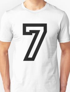 Number Seven T-Shirt