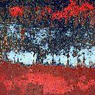 ...trouble appears in layers... by Lynne Prestebak