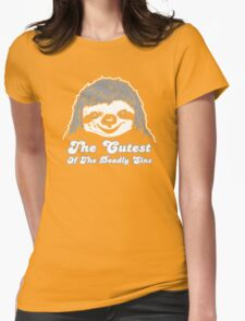 The Cute Face Womens Fitted T-Shirt