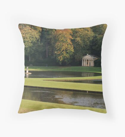 The Temple of Piety Throw Pillow