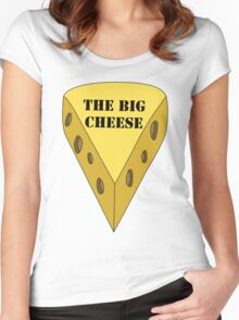 The Big Cheese Women's Fitted Scoop T-Shirt