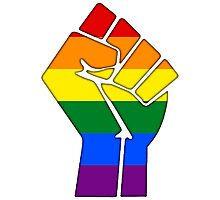 Pride! Marriage Equality 2015! Photographic Print
