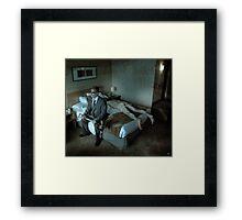 A Spade For A Spade Framed Print