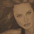 Angelina Jolie by Lorelle Gromus