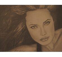 Angelina Jolie Photographic Print