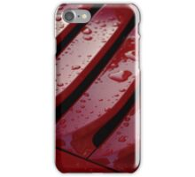 Porsche 911 Vent Detail in the Rain iPhone Case/Skin