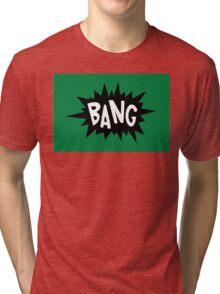 Cartoon Bang by Chillee Wilson Tri-blend T-Shirt