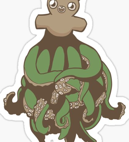 Octobear Sticker