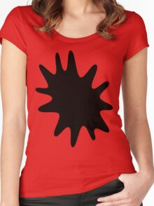 Ink Spatter by Chillee Wilson Women's Fitted Scoop T-Shirt