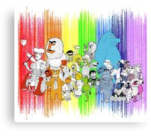 The Rainbow Connection Canvas Print