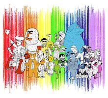 The Rainbow Connection Photographic Print