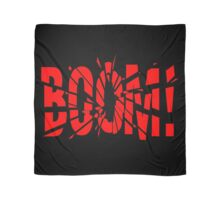 Cartoon BOOM by Chillee Wilson Scarf