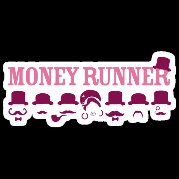 Moneyrunner - Logo T-shirt by Stephen Wildish