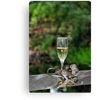To the Bride & Groom Canvas Print