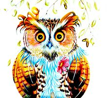 The most beautiful Owl by IsabelSalvador