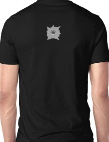 Bullet Hole 1 by Chillee Wilson Unisex T-Shirt