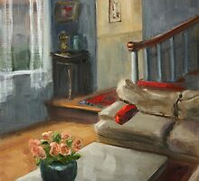 Red Pillows by Inna Lazarev