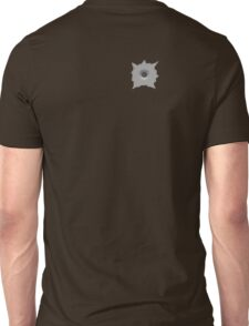Bullet Hole 5 by Chillee Wilson Unisex T-Shirt