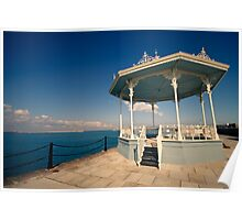 Band Stand On The Pier Poster