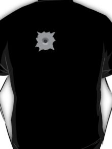 Bullet Hole 3 by Chillee Wilson T-Shirt