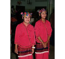Shan girl dancers Photographic Print