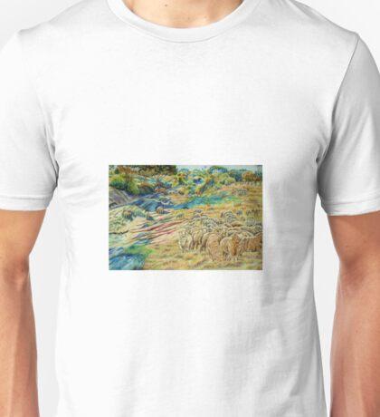 Sheep In the Creek - Dumbleyung Unisex T-Shirt