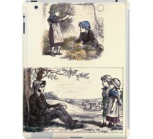 The Little Folks Painting book by George Weatherly and Kate Greenaway 0109 iPad Case/Skin
