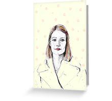 Margot Tenenbaum Greeting Card
