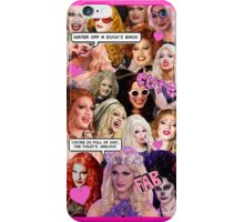 Jinkx Monsoon collage iPhone Case/Skin
